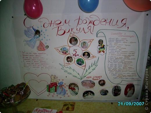 Плакаты к дню рождения своими руками маме